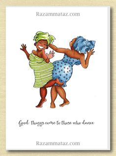 African american real friends greeting card friends pinterest african american good things come to those who dance m4hsunfo