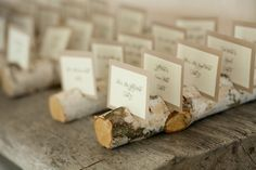 Wedding Decorations - Escort cards