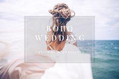 Boho Toned Wedding Preset LR & PS - Actions