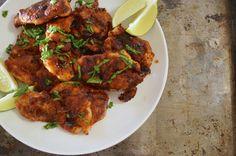Spicy Chicken Thighs