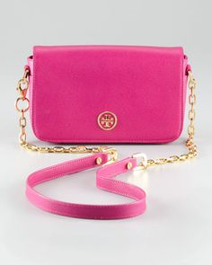 Tory Burch Robinson Mini Bag, $365.00: This is so small it's almost impractical, but I'm pretty sure I need it anyway. <3