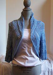 Ravelry: Bella Shrug pattern by Kristina Olson