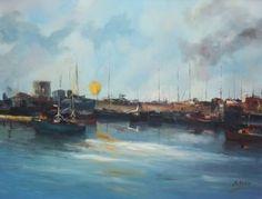 "Saatchi Art Artist Andres Vivo; Painting, ""Sun desire  ref.1851"" #art"
