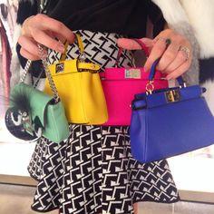 mini it bags coloridas