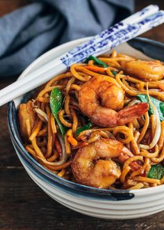 See Takeout Fakeout! See how easy it is to make restaurant-quality Shrimp Lo Mein at home in just 30 minutes prep to finish. Weeknight dinner made easy. Asian Recipes, Healthy Recipes, Chinese Vegetables, Asian Cooking, Shrimp Recipes, Shrimp Dishes, Noodle Recipes, Clean Eating Snacks, Cooking Recipes