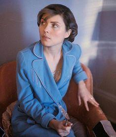 Debbie - domestic, in blue