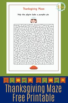 This Thanksgiving printable games pack includes a maze, I-spy, a crossword puzzle, and a word search. Great for a Thanksgiving kids table or boredom buster. Thanksgiving Crossword Puzzle, Crossword Puzzle Games, Thanksgiving Word Search, Thanksgiving Words, Printable Games For Kids, Free Printable Puzzles, Puzzle Games For Kids, Maze Puzzles, Word Puzzles