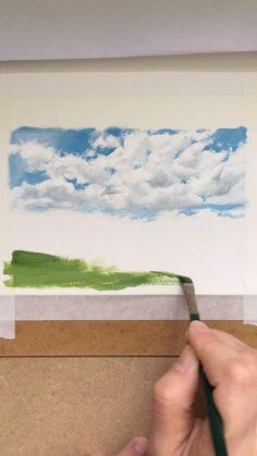 English landscape painting process | COLEMAN SENECAL ART