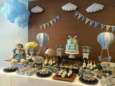 Globos Kids And Parenting, Babyshower, Shower Ideas, Tables, Birthday Cake, Candy, Table Decorations, Amazing, Home Decor