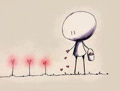 Sembrando amor... #garabateandosonrisas :-)