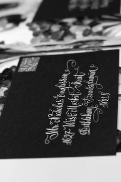 Envelope calligraphy/designsgirl