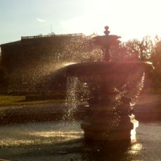 Fountain on the wind 100 Happy Days, Fountain, Explore, Water Fountains, Exploring
