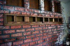 I love interior brick walls and this is how I made a realistic looking brick wall out of homemade paper clay. I love interior brick walls and this is how I made a realistic looking brick wall out of homemade paper clay. Funky Home Decor, Handmade Home Decor, Diy Home Decor, Faux Brick Panels, Brick Paneling, Brick Accent Walls, Brick Walls, Faux Brick Backsplash, Brick Room