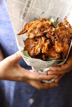 Best Vegetable Bhaji Fritters Recipe on Pinterest