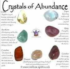 Crystals of Abundance