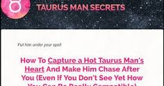 http://ift.tt/2n0t4rE ==>  Taurus Man Secrets Review - Is It Legit - How To Capture a Hot Taurus Man's Heart And Make Him Chase After You  Taurus Man Secrets Review  : http://ift.tt/2njsA2j  Taurus Man Secrets eBook is usually an exclusive level-by-relocate information and facts uncovering everything you should know to put a Taurus man below your spell. No matter if you are wanting to pull in a Taurus man or you are looking for to deepen your interconnection undoubtedly much better…