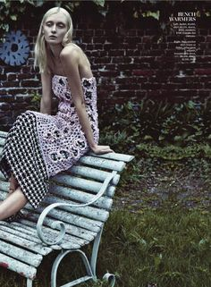 visual optimism; fashion editorials, shows, campaigns & more!: urban legends: kamila filipcikova and alexa yudina by boe marion for us marie claire september 2013