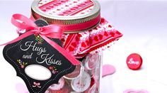 Valentines Day Mason Jar Gift Set $4.99 Jane.com