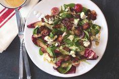 Gnocchi s růžičkovou kapustou, slaninou a oříšky Ciabatta, Gnocchi, Sprouts, Potato Salad, Food And Drink, Potatoes, Vegetables, Ethnic Recipes, Koken