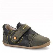 @bobux  #Zapatos Niño Roly Poly Casual Shoe Verde #Calzado Bobux fabricado en piel ecológica