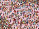 Postcard - Where's Wally? - The Pink Paradise Party.