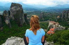 Vista dos mosteiros de Meteora, em Kalampaka - Foto: Ticiana Giehl e Marquinhos Pereira/Escolha Viajar