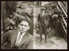 Vintage vif Mugshots des criminels Dapper années 1920 (7)