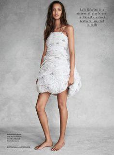 "Vogue UK Novembro 2014   ""Close To Heaven"" por Patrick Demarchelier [Editorial]"