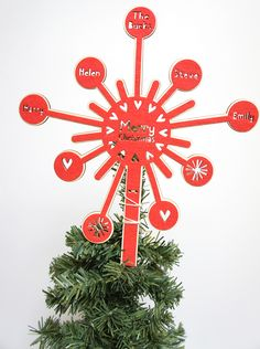 This gorgeous personalised tree topper  will look fabulous on top of any christmas tree. A beautiful keep sake that can be brought out year after year and passed down through generations, a future …