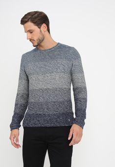 Blend Trui - blue mirage - Zalando.nl Stylish Mens Outfits, Stylish Clothes, Men Sweater, Sweaters, Blue, Fashion, Moda, La Mode, Sweater