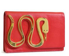 Jonathan Adler snake clutch | Southern Arrondissement: Gold Menagerie