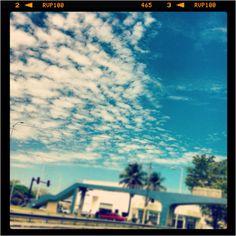 My sky!