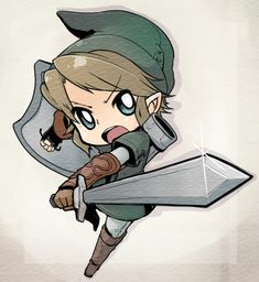 Twilight Princess Chibi Link ~
