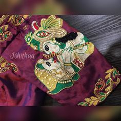 Radhe Krishna !! The romance and the love !! Couldn t be put in words... Ping  on 9884179863 to book an appointment for your designer blouse needs and stand out in the crowd.  26 May 2017