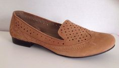 Naturalizer Shoes Womens Size 8.5 M Louder Loafers Tan 8 1/2 #Naturalizer #LoafersMoccasins #WeartoWork