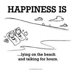 Happiness is...yes! Or in silence ; ) ♡Deonna