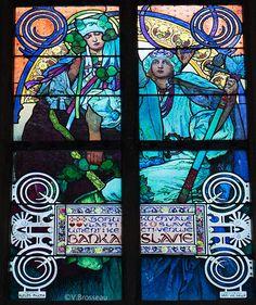 Prague - cathédrale St Guy - intérieur - Le blog de Véronique Brosseau Matossy