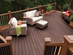 The DIY Network experts talk the different types of decking materials, deck framing basics and deck terminology.
