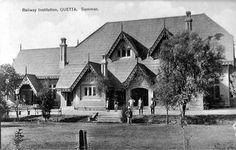 Quetta Railway Institution . British India (Pakistan).