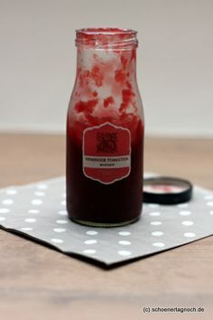 Selbstgemachte Grill-Sauce: Himbeer-Ketchup