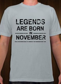 Legends Are Born Birthday T Shirt And Template Personalize Online
