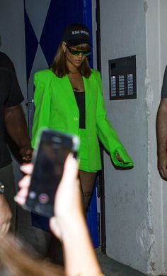 August 17: Rihanna out and about in Berlin