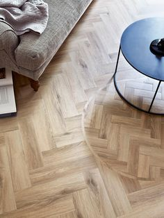 Buy Cornish Oak Amtico Signature Wood Luxury Vinyl Tile Flooring from our Vinyl Flooring range at John Lewis & Partners. Amtico Flooring, Wood Vinyl, Vinyl Tile Flooring, Herringbone Wood, Herringbone Wood Floor, Luxury Vinyl Tile Flooring, Floor Tile Design