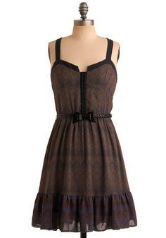 turkish coffee dress from modcloth. Boho Look, Bohemian Style, Mod Dress, Dress Up, Bright Dress, Boho Fashion, Fashion Outfits, Retro Vintage Dresses, Turkish Coffee
