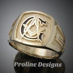 282 Best Masonic rings images in 2019 | Rings, Masonic jewelry