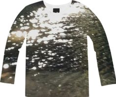 Sunlight Reflection Long Sleeve Tee from Print All Over Me