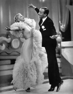 Ginger Rogers and Fred Astaire in Roberta (1935)