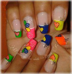 Bella Nails, French Nails, Pedicure, Finger, Nail Designs, Nail Art, Beauty, Quilts, Tips