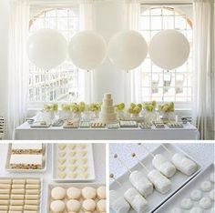 white sweet table from Amy Atlas