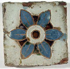 The Metropolitan Museum of Art - Pavement tiles Tile Art, Mosaic Art, Mosaic Tiles, Les Artisans, Art Ancien, Spanish Tile, Antique Tiles, Carlo Scarpa, Clay Tiles